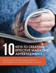 10 Keys To Creative Effective Magazine Ads
