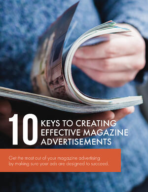 10 Keys To Creative Effective Magazine Ads - Cover
