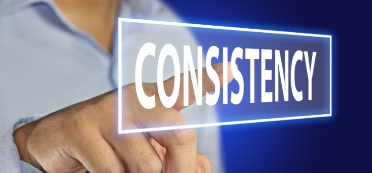 consistency for video marketing