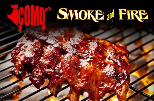 Como Smoke and Fire