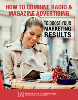combine radio and magazine advertising ebook