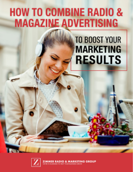 combine radio and magazine advertising ebook