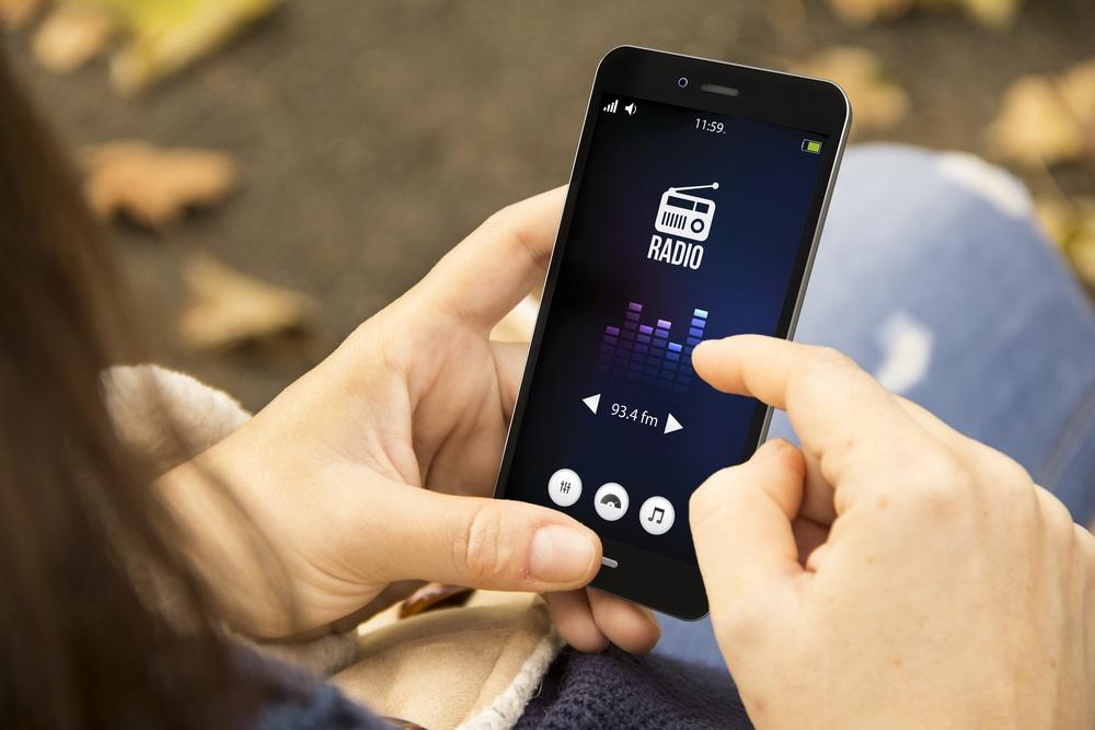Radio on Phone Image